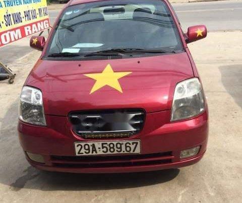 Bán Kia Morning đời 2008, màu đỏ, nhập khẩu Hàn Quốc chính chủ1