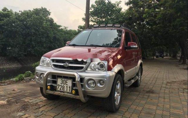 Cần bán Daihatsu Terios 1.3MT năm 2007, màu đỏ0