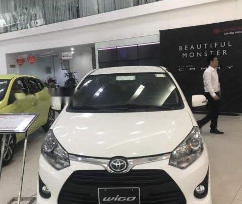 Bán Toyota Wigo sản xuất năm 2019, màu trắng, nhập khẩu 4