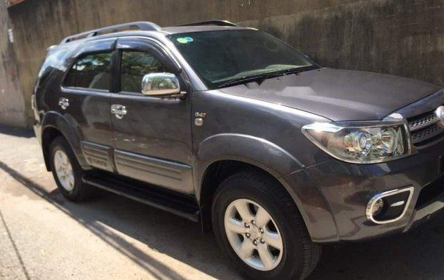 Bán Toyota Fortuner đời 2010, màu xám, xe ít sử dụng0