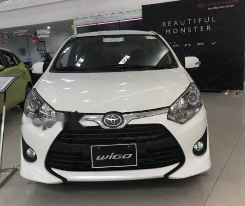 Bán Toyota Wigo sản xuất năm 2019, màu trắng, nhập khẩu 0