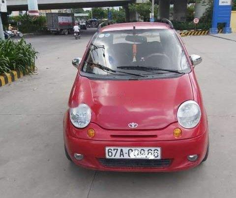 Bán lại xe Daewoo Matiz SE 2007, màu đỏ, nhập khẩu  0
