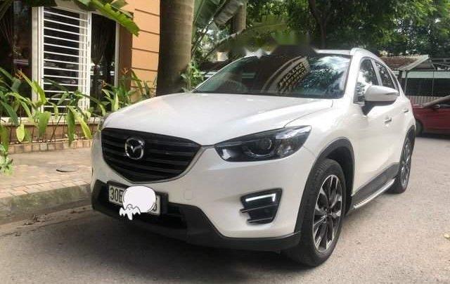 Bán xe Mazda CX 5 2.5AT đời 2017, màu trắng, chính chủ 0