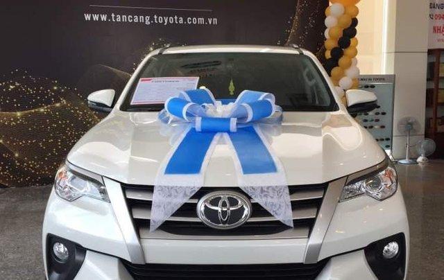 Bán Toyota Fortuner đời 2019, màu trắng, nhập khẩu 0
