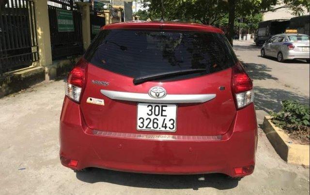 Gia đình bán Toyota Yaris đời 2016, màu đỏ, xe nhập3