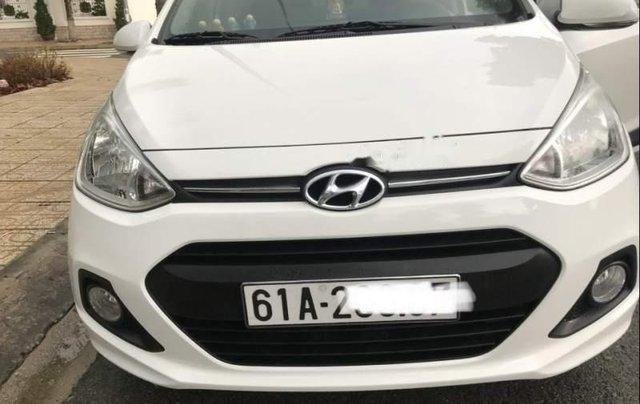 Chính chủ bán Hyundai Grand i10 đời 2015, màu trắng, nhập khẩu số tự động0