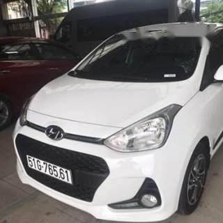 Bán Hyundai Grand i10 năm sản xuất 2019, màu trắng