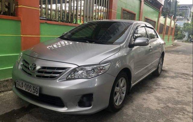 Bán Toyota Corolla altis MT sản xuất năm 2014, màu bạc  1