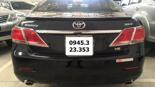 Xe Toyota Camry 3.5 AT đời 2009, màu đen1
