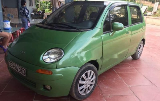 Bán lại xe Daewoo Matiz sản xuất 2001, màu xanh cốm 0