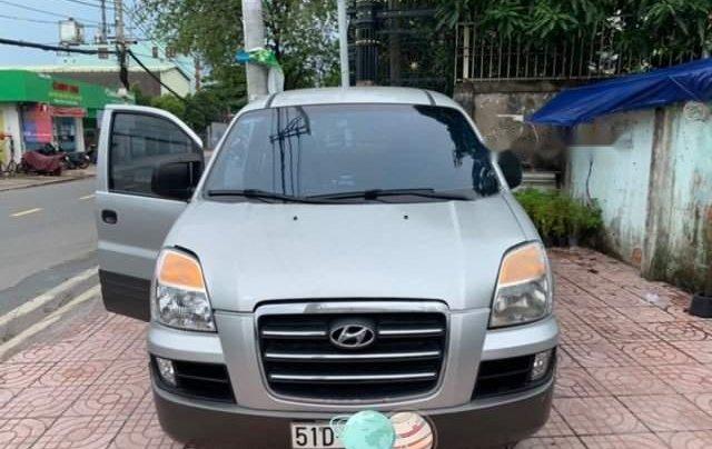 Cần bán gấp Hyundai Grand Starex 2006, màu bạc, xe nhập0