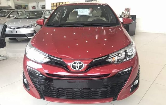 Bán Toyota Yaris sản xuất 2019, màu đỏ, nhập khẩu  0