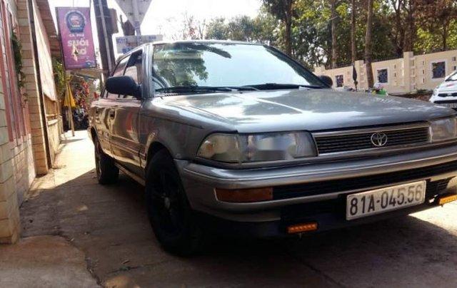 Bán Toyota Corolla năm 1989, màu xám, nhập khẩu  3