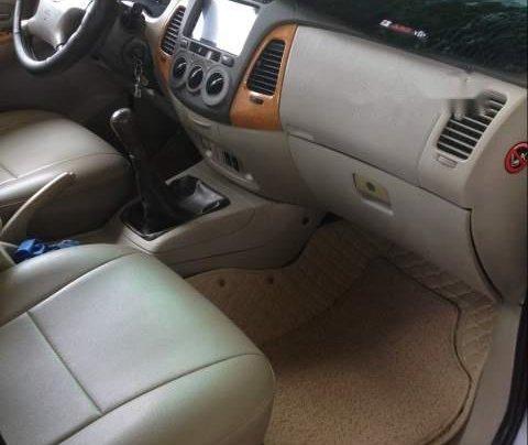 Cần bán lại xe Toyota Innova năm sản xuất 2008, màu bạc1