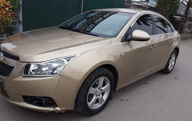 Bán Chevrolet Cruze năm 2011, màu vàng số sàn, 315 triệu1