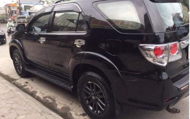 Bán Toyota Fortuner đời 2015, màu đen, giá tốt