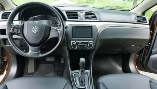 Bán Suzuki Ciaz 1.4AT đời 2018, màu bạc, nhập khẩu nguyên chiếc1