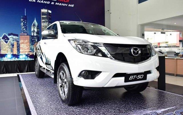 Bán xe Mazda BT 50 đời 2019, màu trắng, nhập khẩu  0