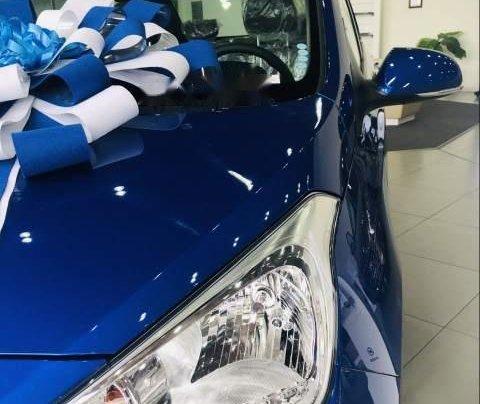Bán xe Hyundai Grand i10 sản xuất năm 2019, màu xanh lam, 328tr1