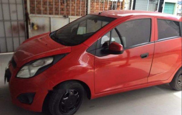 Cần bán gấp Chevrolet Spark đời 2016, màu đỏ xe gia đình0