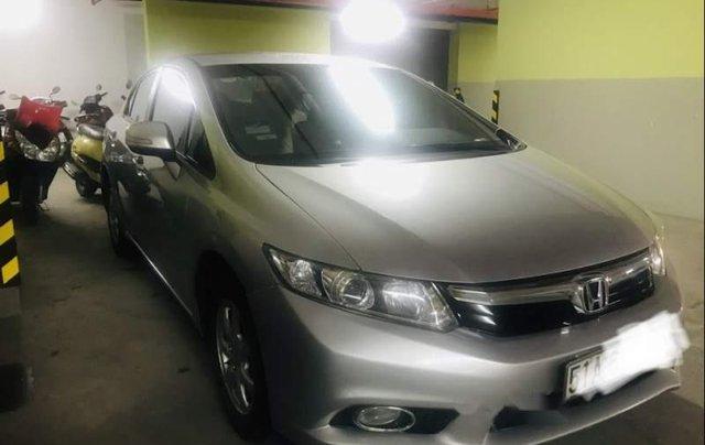 Bán Honda Civic năm 2013, màu bạc, chính chủ 4