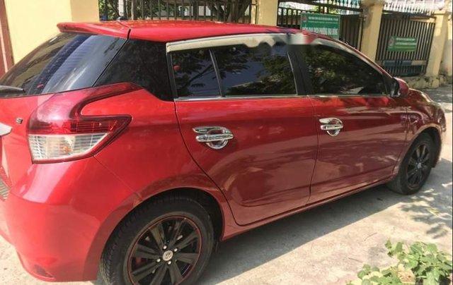 Gia đình bán Toyota Yaris đời 2016, màu đỏ, xe nhập5