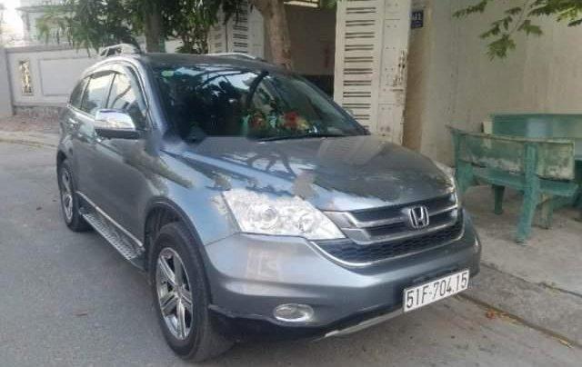 Bán gấp Honda CR V sản xuất năm 2010, màu xám, số tự động