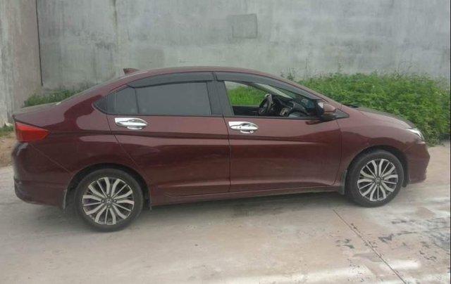 Chính chủ bán xe Honda City năm sản xuất 2017, màu đỏ1
