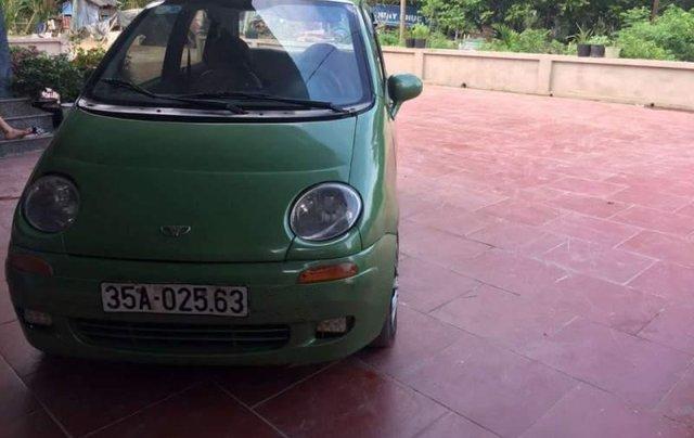 Bán lại xe Daewoo Matiz sản xuất 2001, màu xanh cốm 3