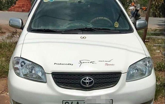 Bán Toyota Vios sản xuất năm 2006, màu trắng, nhập khẩu 0