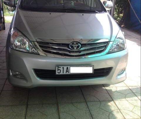 Cần bán lại xe Toyota Innova năm sản xuất 2008, màu bạc0