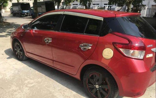 Gia đình bán Toyota Yaris đời 2016, màu đỏ, xe nhập2