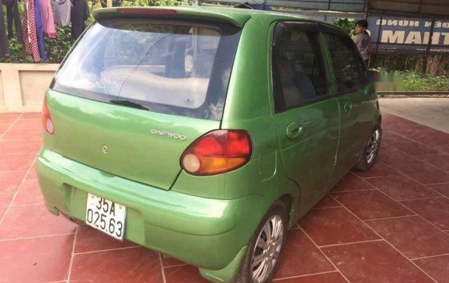 Bán lại xe Daewoo Matiz sản xuất 2001, màu xanh cốm 1