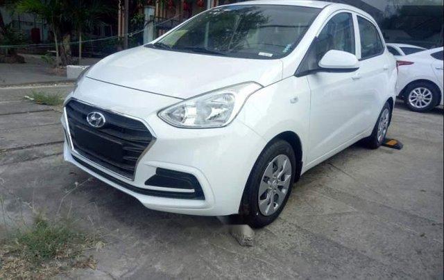 Bán xe Hyundai Grand i10 đời 2019, màu trắng1