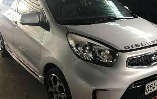 Bán xe Kia Morning SI MT đời 2015, màu bạc, xe đẹp4