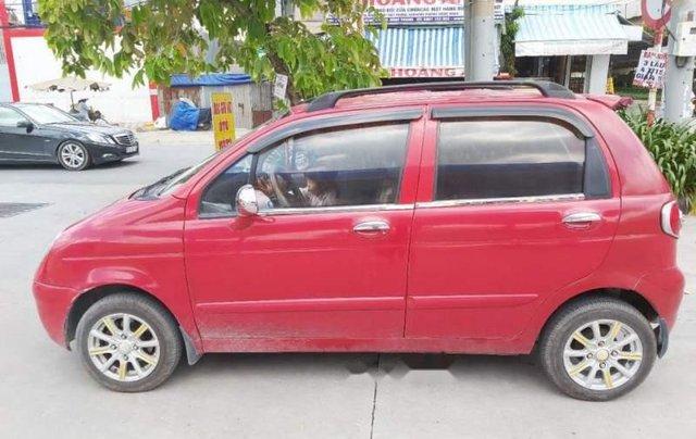 Bán lại xe Daewoo Matiz SE 2007, màu đỏ, nhập khẩu  2