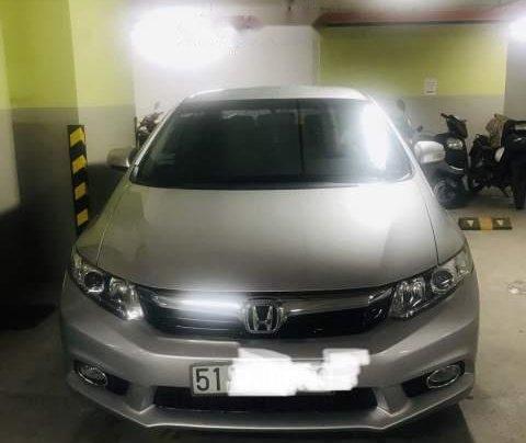 Bán Honda Civic năm 2013, màu bạc, chính chủ 0