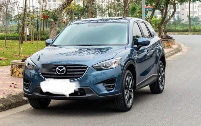 Bán ô tô Mazda CX 5 sản xuất 2016, màu xanh lam0