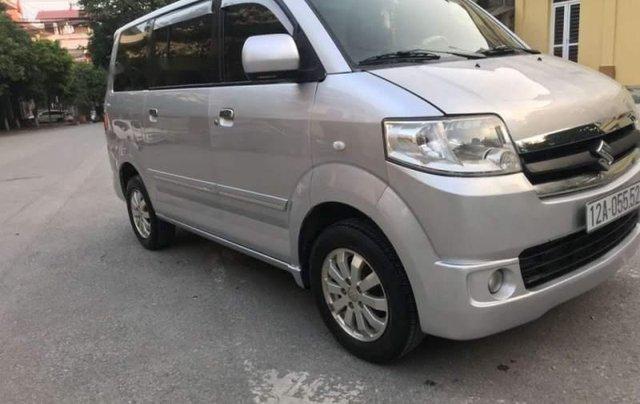 Bán ô tô Suzuki APV sản xuất năm 2009, màu bạc, nhập khẩu4