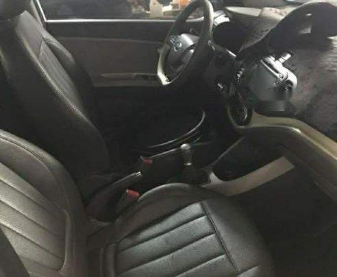 Bán xe Kia Morning SI MT đời 2015, màu bạc, xe đẹp1