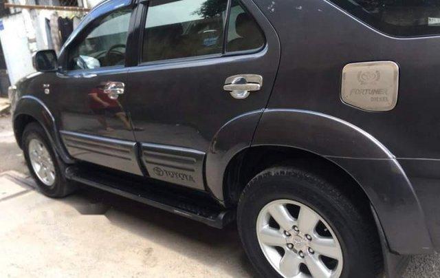 Bán Toyota Fortuner đời 2010, màu xám, xe ít sử dụng4