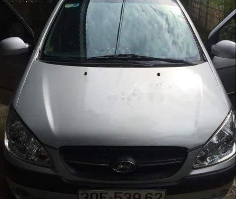 Bán Hyundai Getz đời 2010, màu bạc, xe nhập số sàn0