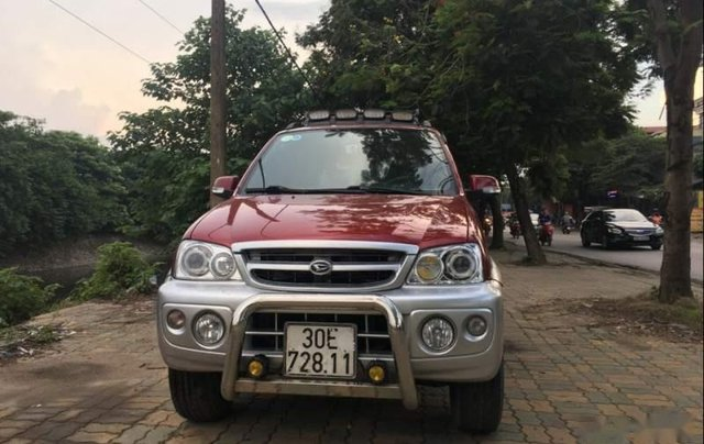 Cần bán Daihatsu Terios 1.3MT năm 2007, màu đỏ5