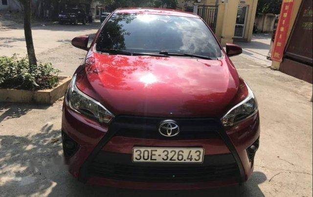 Gia đình bán Toyota Yaris đời 2016, màu đỏ, xe nhập0