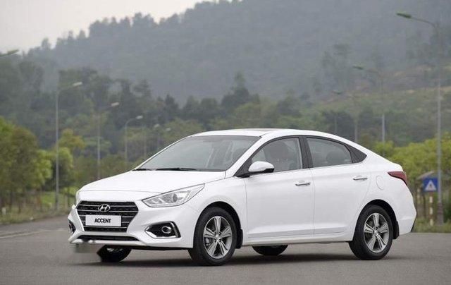 Bán Hyundai Accent sản xuất 2019, màu trắng0