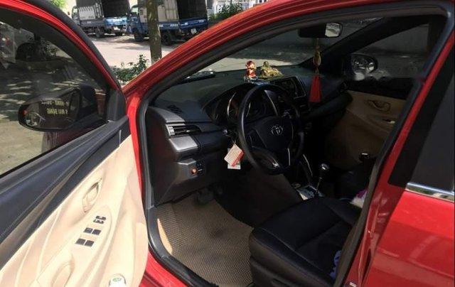 Gia đình bán Toyota Yaris đời 2016, màu đỏ, xe nhập1