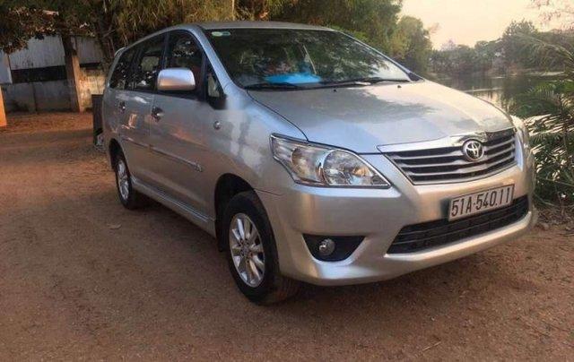 Bán Toyota Innova đời 2013, màu bạc, giá chỉ 475 triệu0