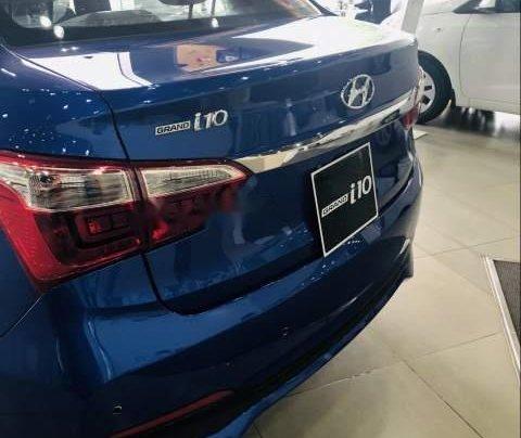 Bán xe Hyundai Grand i10 sản xuất năm 2019, màu xanh lam, 328tr4