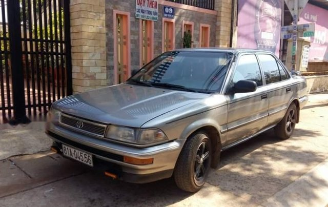 Bán Toyota Corolla năm 1989, màu xám, nhập khẩu  0