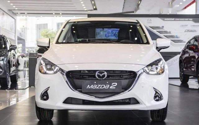 Bán ô tô Mazda 2 năm sản xuất 2019, màu trắng, nhập khẩu nguyên chiếc giá cạnh tranh1